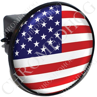 Tow Hitch Cover - Flag - USA