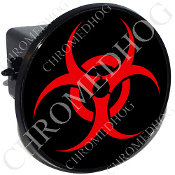 Tow Hitch Cover - Hazard - Red
