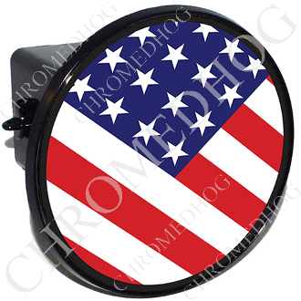 Tow Hitch Cover - Flag - USA - N