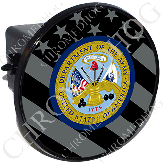 Tow Hitch Cover - Army Dept - Ghost Flag