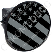 Tow Hitch Cover - Flag - Ghost USA