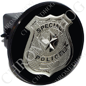 Tow Hitch Cover - Special Police Badge - B2