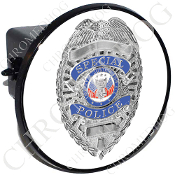Tow Hitch Cover - Special Police Badge - W1