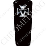 08-15 Ultra & Electra Glide Dash Insert - Iron Cross CSB