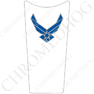 89-07 Road & Electra Glide Dash Insert Decal - USAF Air Force W